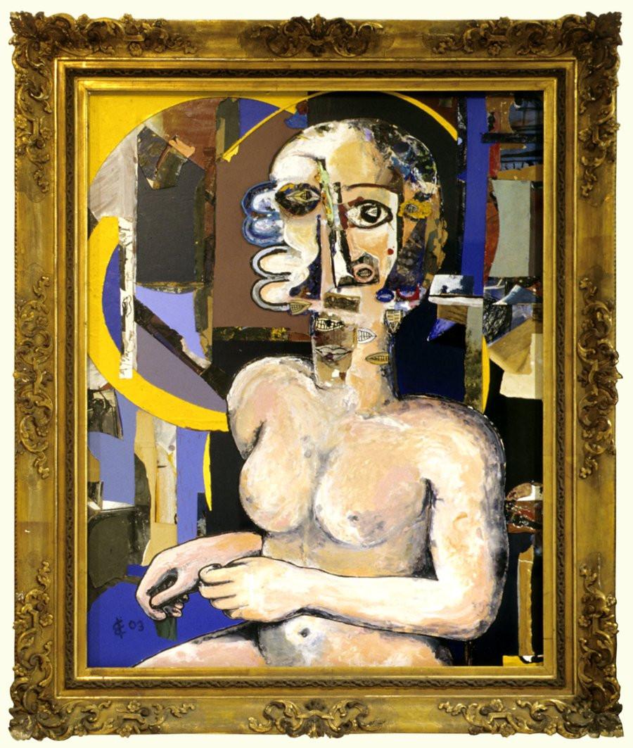 1- portrait d une femme de goya 2003-900