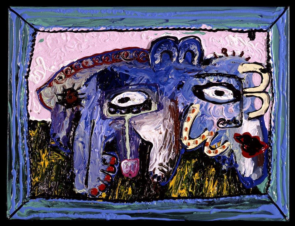 a very big elephant 1991