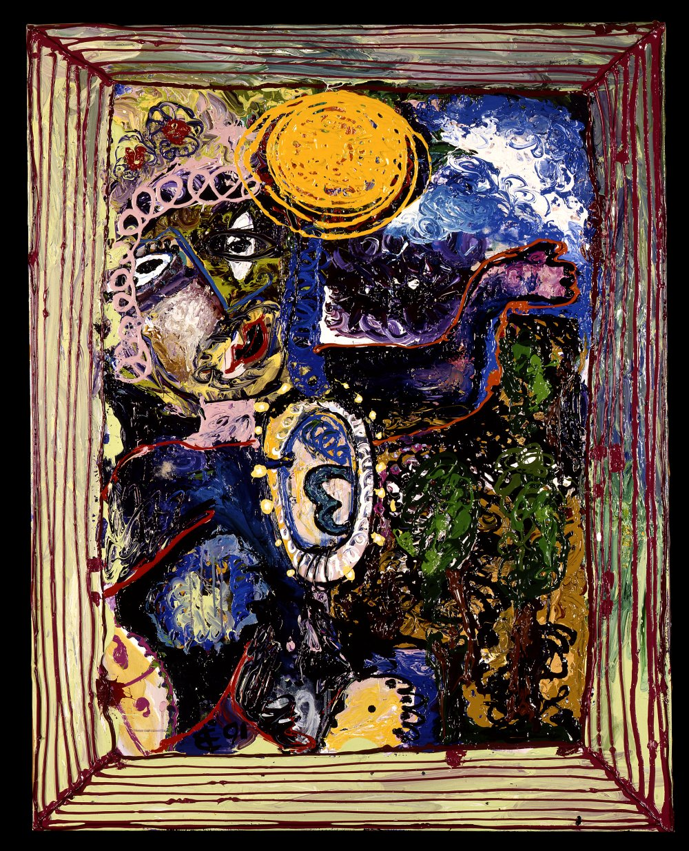 an evening with the daughter of chagall 1991