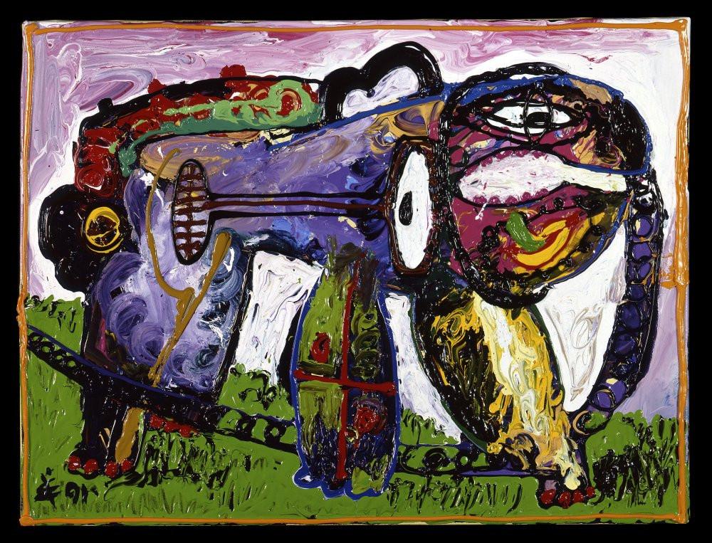 angry baboon 1991